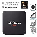 Kekilo MX Pro Android 5.1 TV Box Amlogic S905 4K Quad Core 1G/8G WiFi HDMI Kodi Pre-installed Smart Media Player
