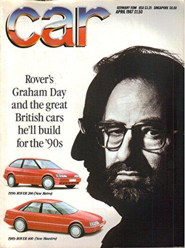 Porsche 928s4 - CAR Magazine, April 1987 (UK edition)