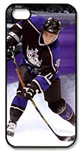 icasepersonalized Personalized Protective Case for iPhone 5/5S - NHL Los Angeles Kings #11 ANZE KOPITAR by kobestar