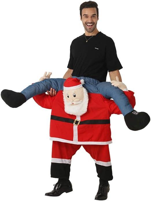 FAFY Navidad Disfraz Unisex De Papá Noel Disfraz De Caballero ...