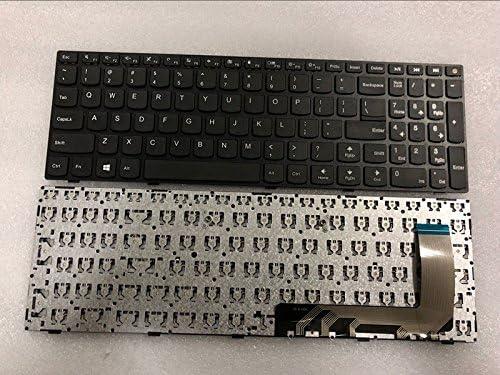 New US Keyboard for Lenovo ideaPad 110-15ISK US Laptop Keyboard No Backlit with Frame