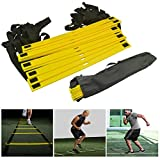 Itian Durable 5.5-Meter 10-Rung Agility Ladder for Soccer, Speed, Football Fitness Feet Training