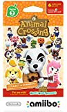 Animal Crossing Cards Series 2 for Nintendo Wii (Pack of 6)