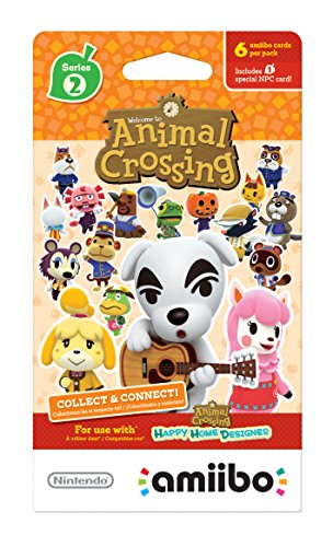 (Nintendo Animal Crossing Cards - Series 2 (Pack of 6 cards))