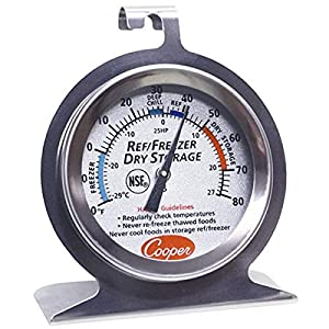 Well-Being-Matters 51foUollTWL._SS300_ Cooper-Atkins 25HP-01-1 Refrigerator/Freezer/Dry Storage Thermometer, HACCP