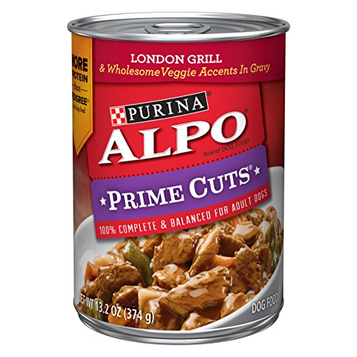 Purina ALPO Gravy Wet Dog Food; Prime Cuts London Grill - 13.2 oz. Can (Pack of 12)