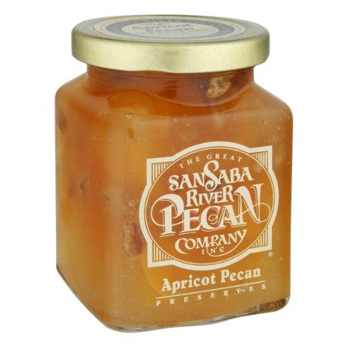 The Great San Saba River Pecan Company Apricot Pecan Preserves