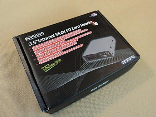Sohousb Koutech Internal 3.5 Inch Multi I//O Card Reader PC And MAC IO-RCM621