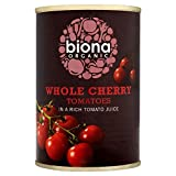 Biona Organic Whole Cherry Tomatoes (400g) - Pack of 2