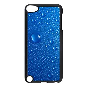 For SamSung Galaxy S6 Phone Case Cover Blue Drops Macro Hard Shell Back Black For SamSung Galaxy S6 Phone Case Cover 310071