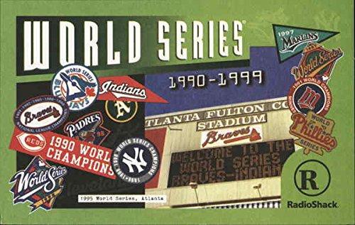 World Series Champions 1990-1999 Baseball Original Vintage Postcard (Series 1993 World 1992)