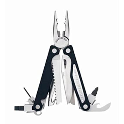 Leatherman Charge ALX para bolsillo 18tools Negro, Acero inoxidable alicate multiherramienta - Alicates de múltiples