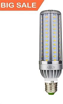 ASIGN 50W Warm White LED Corn Light Bulb