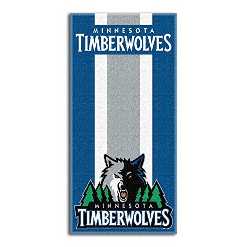 fan products of Northwest NBA Minnesota Timberwolves Beach Towel, 30 X 60 Inches