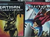 Batman Gotham Knight , Superman Returns : Superhero Family Movie 2 Pack Collection