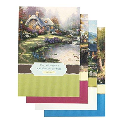 (DaySpring - Inspirational Boxed Cards - Thomas Kinkade - Thinking of You - Cottage)