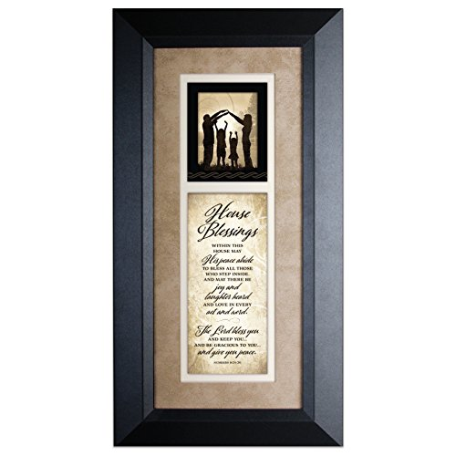 James Lawrence House Blessings...Wood Framed Art with Easel