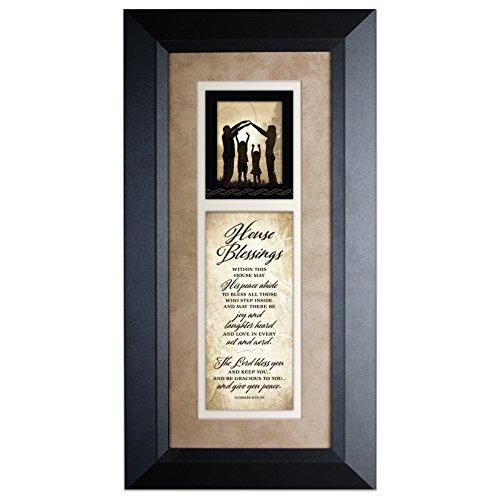 Blessing Prayer House - House Blessings…Wood Framed Art with Easel