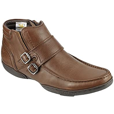 New Buckaroo Boots for Men Fausto Brown Boots Outlet