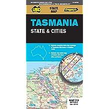 Tasmania State & Cities Map 71