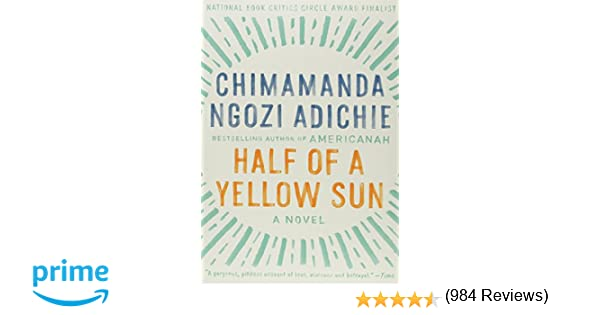 chimamanda ngozi adichie book reviews