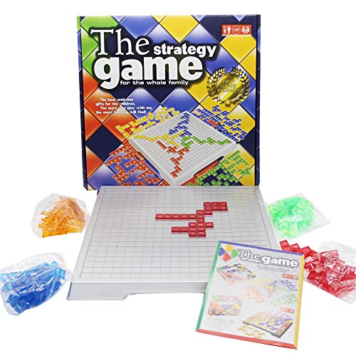 H W The Strategy Game For 4 Players  Tetris Game Board  Wo8 D1