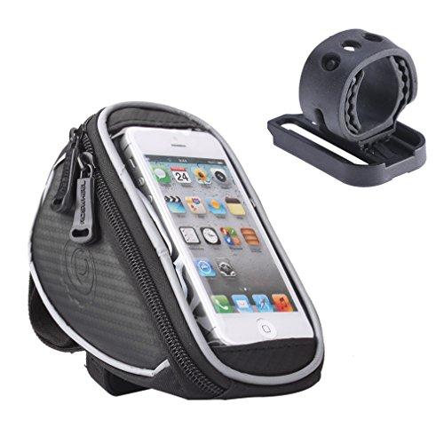 Holifine Fahrradtasche Lenkertasche Handy Tasche, Wasserdicht, geeignet für Handys mit verschiedenen Bildschirm