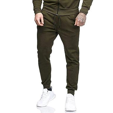 Yunisu - Pantalones de chándal para Hombre, Estilo Casual con ...