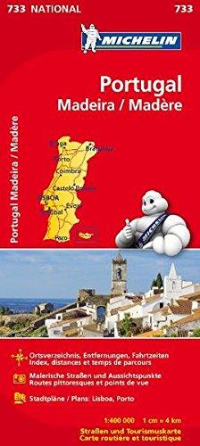 Michelin Portugal Madeira: Straßen- und Tourismuskarte (MICHELIN Nationalkarten, Band 733) Landkarte – 7. Februar 2012 2067171313 Karten / Stadtpläne / Europa Atlanten / Europa Reisekarten