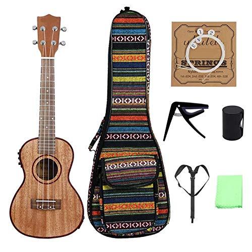 LiangDa Guitarra De Color Madera De 24 Pulgadas Electro-acústicas ...