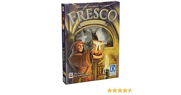 Fresco - Juego de Tablero (Queen Games) (Contenido en alemán e inglés): Amazon.es: Juguetes y juegos