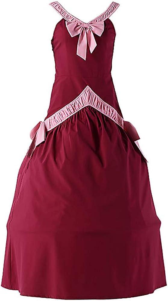 Amazon Com Chius Cosplay Costume Red Dress For The Demon Mira Mirajane Strauss Version 1 Clothing Последние твиты от mirajane strauss (@model_mirajane). amazon com