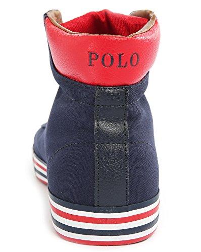 Zapatillas Polo Ralph Lauren Harvey-mid-ne Azul Blu