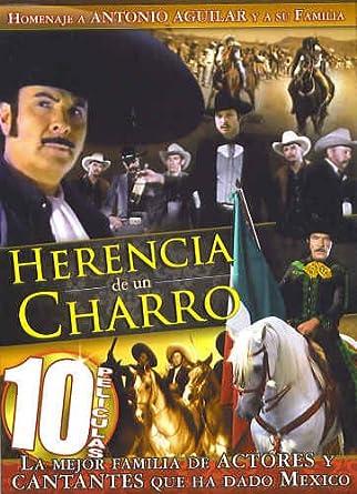 Herencia de un Charro - 10 Peliculas (Spanish DVD Set)
