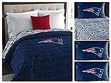 Northwest NFL New England Patriots Bedding Set, Queen