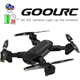 GoolRC SG700-D FPV RC Drone with Camera 4K HD Wide Angle Optical Flow Positioning Follow Me Altitude Hold Quadcopter