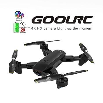 Leslaur GoolRC SG700-D FPV - Dron teledirigido con cámara 4K HD ...