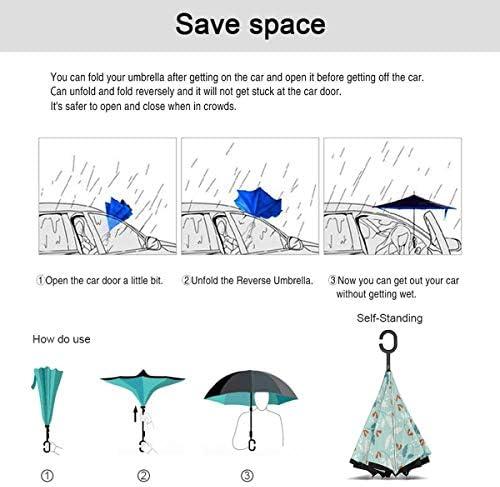 冬時間 逆さ傘 逆折り式傘 車用傘 耐風 撥水 遮光遮熱 大きい 手離れC型手元 梅雨 紫外線対策 晴雨兼用 ビジネス用 車用 UVカット