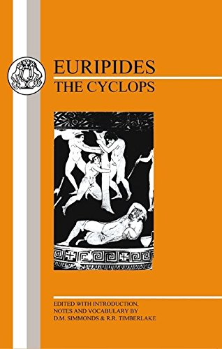 Euripides: Cyclops (Greek Texts)