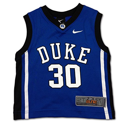 Duke Blue Devils #30 Nike Royal Toddler Kid's Basketball Jersey (3T)