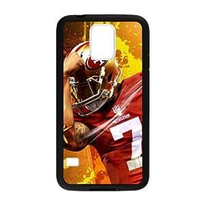 Custom Unique Design Colin Kaepernick Samsung Galaxy S5 Silicone Case