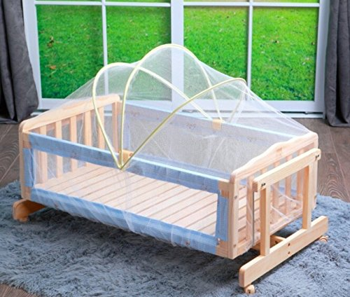 Baby Cradle Bed Mosquito Nets Infant Mosquitos Net Tent Nursery Crib Canopy Netting by IBLUELOVER