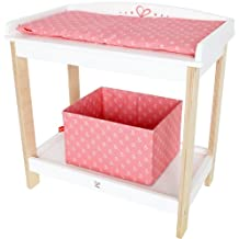 Hape Kid's Babydoll Wooden Changing Table