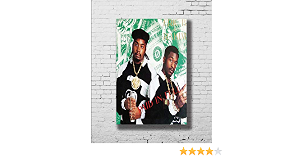 ERIK B AND RAKIM Hollywood Celebrity Posters TV Movie Poster 24 in by 36 in 2