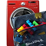 Blockwash Clean and Sanitize Lego, Duplo Mega Bloks any Plastic Toys (2 Pack) for Healthy Kids Wash Used Legos and Dirty Blocks, Health Board Approved for Daycare Cleaning Supplies