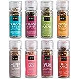 NOMU Gourmet Grinder Variety Set (8 Pack) | Paleo, Vegan, Non-Irradiated, No MSG or Preservatives