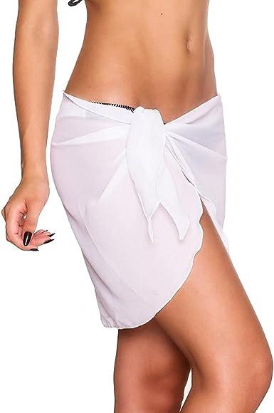 Pareos Playa Mujer Elegantes Verano Falda Tul Moda Casual Color ...