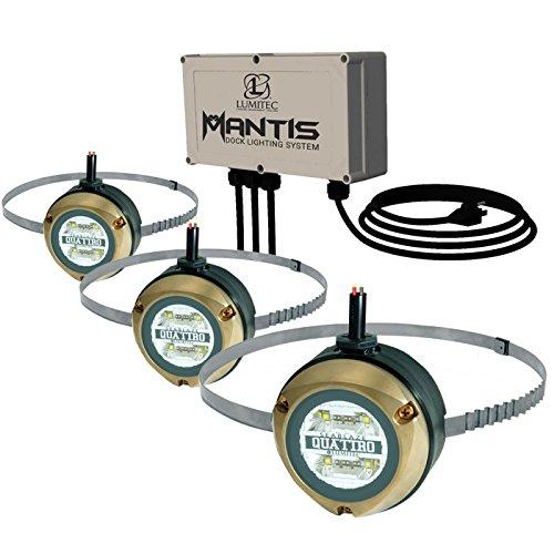 (Lumitec Lighting 101525, Mantis Underwater Dock Lighting Kit)