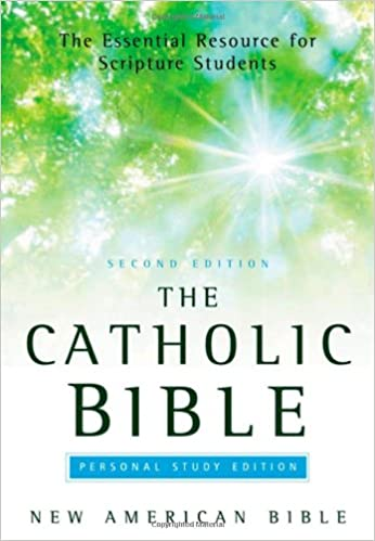 The Catholic Bible Personal Study Edition New American
