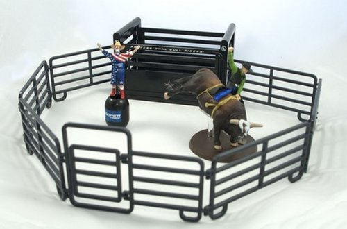Big Country Toys Pro BullライダーロデオSet by Big Country Toys B013XR95ZM